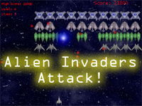 Alien Invaders Attack